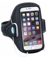AB91 Tune Belt Sport Arm Band Black f. iPhone 6+ u. Note 2-4
