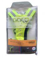 Gato Kids LED Safer Vest Sicherheitsweste Yellow