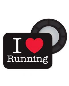 BibBits Magnetische Startnummernhalter - I Love Running