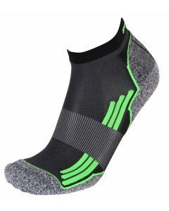 Rywan 1065 No Limit Running Socks Laufsocken Black/Green