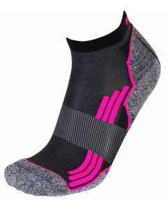 Rywan 1065 No Limit Running Socks Laufsocken Black/Pink