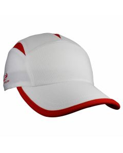 Headsweats Go Hat Laufkappe White/Red