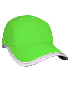 Headsweats Reflective Race Hat Laufkappe Neon-Green