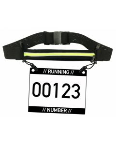 It's running Single Race Belt Laufgürtel