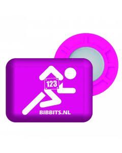 BibBits Magnetische Startnummernhalter - Pink