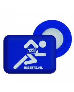 BibBits Magnetische Startnummernhalter - Blue
