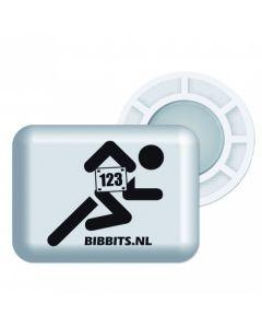 BibBits Magnetische Startnummernhalter - White
