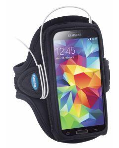 AB90 Tune Belt Sport Arm Band Black f. Galaxy S6 + iPhone 6