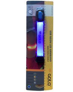Gato USB Neon LED Armband Blue
