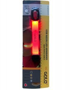 Gato USB Neon LED Armband Red