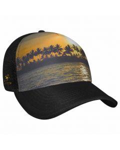 Headsweats 5-Panel Trucker Hat Beachy Front Right