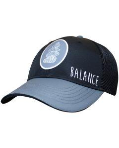 Headsweats 5-Panel Trucker Hat Balance Front Left