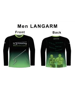 Headsweats It's running Langarm Shirt Herren