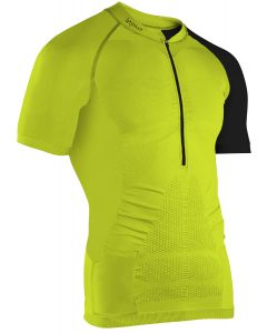 Instinct Sensation Ice Short Sleeve Trail Shirt Lime/Black Front