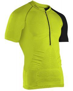 Instinct Sensation Ice Short Sleeve Trail Shirt Lime/Black Front