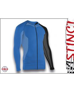 Instinct Sensation Ultra Long Sleeve Trail Shirt Blue/Black Front