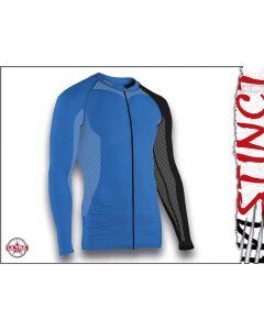 Instinct Sensation Ultra Long Sleeve Trail Shirt Blue/Black Front