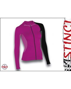 Instinct Sensation Ultra Long Sleeve Trail Shirt Magenta/Black