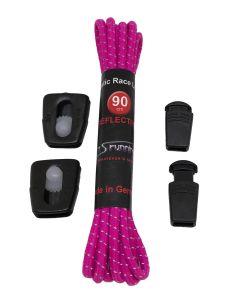 Elastic Race Laces Triathlonschnürsenkel Violett