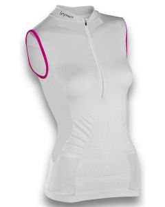 Instinct Sensation Ice Sleeveless Tank Top White/Magenta