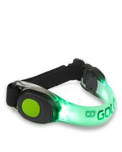 Gato Neon LED Armband Green Sicherheitsleuchte