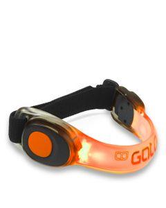 Gato Neon LED Armband Orange Sicherheitsleuchte