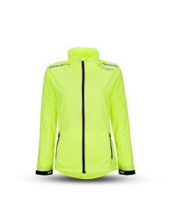 Gato Primer Jacket 2.0 Lauf- und Outdoor-Jacke Women Yellow Front