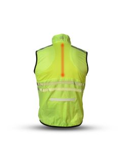 Gato Primer LED Windbreaker Mesh Vest USB