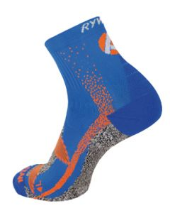 Rywan 1044 No Limit Trail Socks Laufsocken Black/Türkis