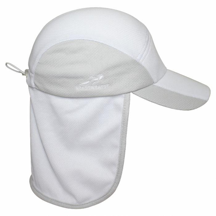 Headsweats Pro Tech Hat White Sport Silver c71c9d9b119