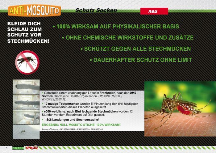 the best attitude f0e2b 6ac44 Rywan 1113 Anti Moskito Mückenschutz Socken Black
